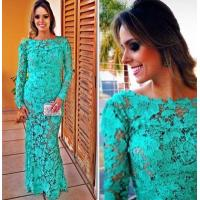 Buy cheap Ladie's Elegant lace dress skirt from wholesalers