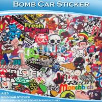 Buy cheap A-25 Vinyl Wrap Car Bomb Stickers from wholesalers