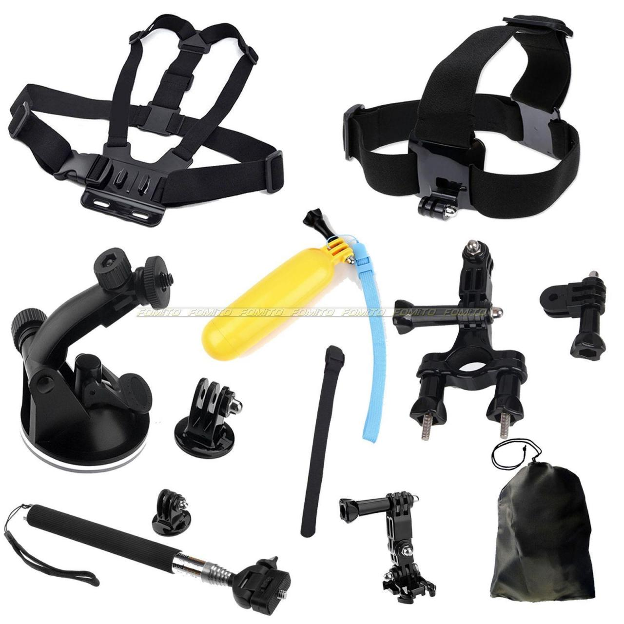 Buy cheap Chest Head Mount Floating Monopod Ski Pole Accessories For GoPro 1 2 3 HD Camera from wholesalers