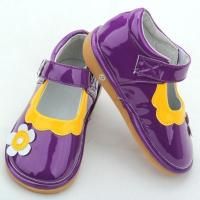 Buy cheap purple plain funky squeaky shoes for babies-BBGB0947 from wholesalers