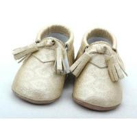 Buy cheap genuine baby leather moccasin purified infant shoes BBLB0790 from wholesalers