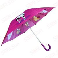 Buy cheap 485mm safety manual open animal print umbrella for kid's from wholesalers