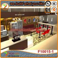 2015 new design coffee kiosk mall coffee kiosk design for sale/ coffee shop kiosk designs