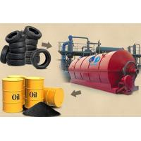 Buy cheap Supplier of used tire to oil machine from wholesalers