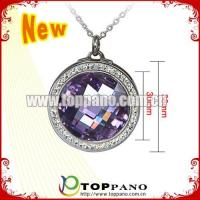 Buy cheap Wholesales stainless steel heart jewelry with crystal from wholesalers