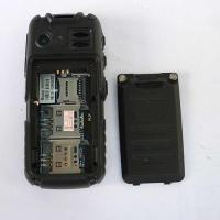 Buy cheap Black mini car Unlocked cell phone Quad Band Dual SIM mp3 waterproof mobile phone from wholesalers