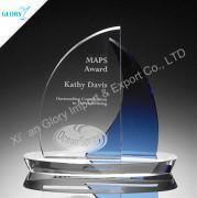 Cheap engraved glass trophy wholesale
