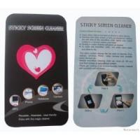 Buy cheap Heart shape microfiber sticky screen cleaner,digi mates from wholesalers