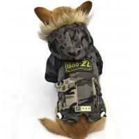 Buy cheap Classic camouflage dog coat winter Puppy Clothes Army Green from wholesalers