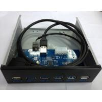 Buy cheap 6 ports usb hub 3.0 Front Panel from wholesalers