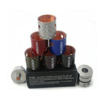 Buy cheap Carbon Fiber airek rda 22mm copper contact pin,black red silver black colors product
