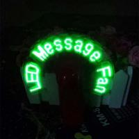 Buy cheap personalized led message fan from wholesalers