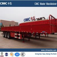Buy cheap hot selling tri-axle side wall trailer from wholesalers