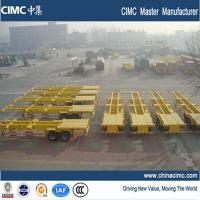 Buy cheap 2 axles 40 ft container trailer for sale from wholesalers