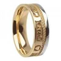Buy cheap Unisex Claddagh Wedding Ring from wholesalers
