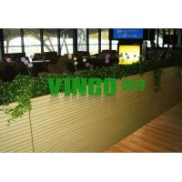 Buy cheap 18mm wall grooved wooden sound absorbing panel, stock for sale from wholesalers