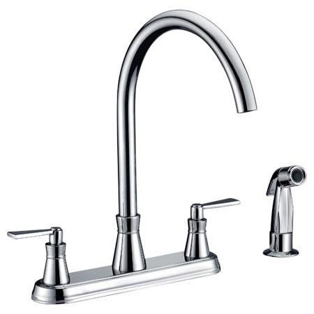 buy double handle kitchen faucets 43388530