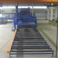 Buy cheap Q69 roller type conveyor shot blasting machine for steel plate/section from wholesalers