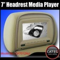 Buy cheap Car headrest multimedia players with 7 inch monitors, car headrest MP3 MP4 MP5 players from wholesalers