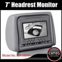 Buy cheap 7 inch car seatback monitor with TV DVB_T ISDB_T HDMI input from wholesalers