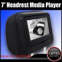 Buy cheap Car MP3 MP4 MP5 multimedia players for headrest mounted, 7 inch car headrest multimedia players from wholesalers