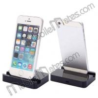 Buy cheap Portable design 8 Pin Desktop Charging Cradle Dock Charger for iPhone 6/ 6 Plus/ 5/ 5S/ 5C - Black from wholesalers