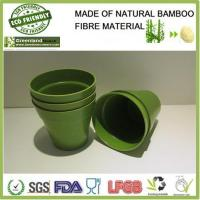 Buy cheap pleasing bamboo fiber mini flower pot from wholesalers