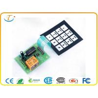 Buy cheap Metal Dome PCB Membrane Keyboard Switch with Full Cover ESD tail from wholesalers