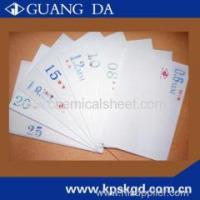 Buy cheap Thermo chemical sheet from wholesalers