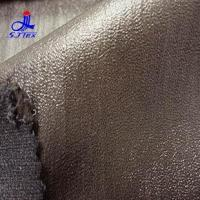Buy cheap Polyester pongee composite knit + roller coating from wholesalers