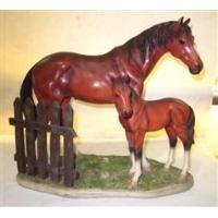 Buy cheap Item  polyresin horses from wholesalers