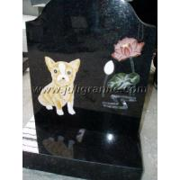 Buy cheap Shanxi Black Pet headstone from wholesalers