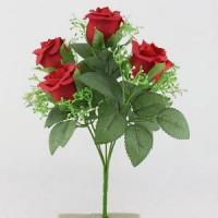 Buy cheap WTS-3925 fake flower wedding bouquet from wholesalers