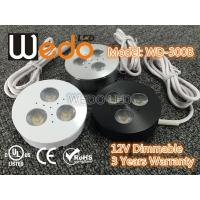 Buy cheap WD-300A 12V 3W LED Cabinet Light / LED Puck Light with CE cUL UL Certified product