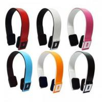 Buy cheap PB02 Wireless colourful bluetooth stereo headset from wholesalers