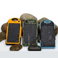 Buy cheap waterproof solar charger 12000mah from wholesalers