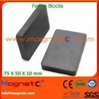 Buy cheap Sintered Hard Block Ferrite Magnets from wholesalers