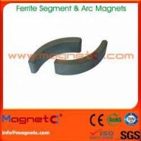 Buy cheap Sintered Hard Ferrite Magnet Arc from wholesalers