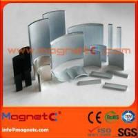 Buy cheap Customized Sizes Arc NdFeB Magnet product