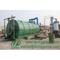 Buy cheap High automatic and environmetal friendly pyrolysis plant from wholesalers