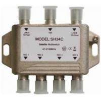 Buy cheap Zinwell micro 3 X 4 Digital Satellite MultiSwitch & Combiner from wholesalers