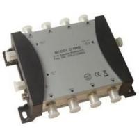 Buy cheap 2 in 8 out satellite multiswitch with power supply from wholesalers
