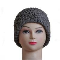 Buy cheap Women's Knitted Beanie Hat with Side Flower from wholesalers