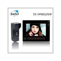 Buy cheap Saful TS-YP901DVR series 9 wired video door phone (unlock+recording+CCTV camera) from wholesalers