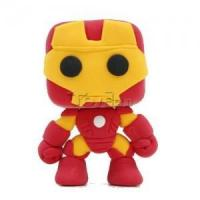 "Buy cheap Marvel The Avengers 2"" Iron Man Ironman DIY Action Figure Clay Doll Model Kids Educational Toy from wholesalers"