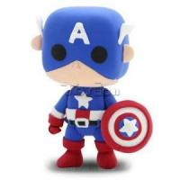 "Buy cheap Marvel The Avengers 2"" Captain America DIY Action Figure Clay Doll Model Kids Educational Toy from wholesalers"