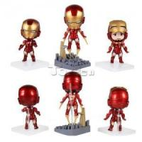 Buy cheap The Avengers Iron Man 10cm PVC Action Figure Model Collectible Toy from wholesalers