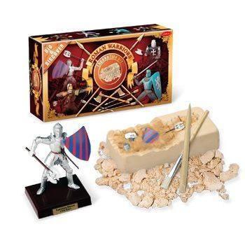 Quality Roman Warriors Dig & Assembly Kit, 4 assorted, 12pcs per display. for sale