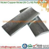 Buy cheap Ni-Cu-Ni Plated Magnetic Arc Ndfeb from wholesalers