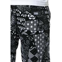 Buy cheap black custom seamed pattern sublimation sweatpants from wholesalers